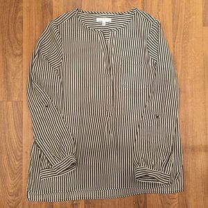 Chaus New York Striped Blouse